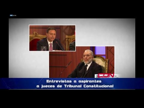 CNM entrevistas aspirantes a jueces Tribunal Constitucional
