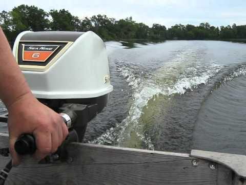 1970 Sea King 6hp Outboard Motor