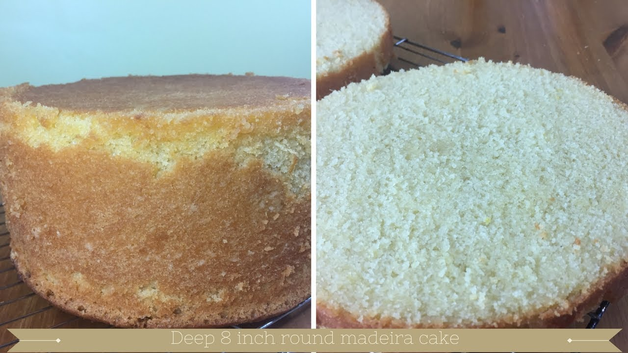 Inch Lemon Madeira Cake Recipe