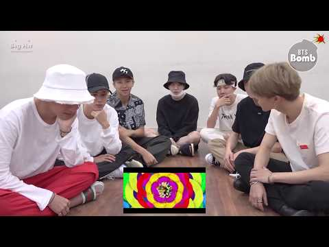 [中字] 180904 [BANGTAN BOMB] BTS 'IDOL' MV Reaction BTS 방탄소년단
