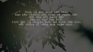 Tình và đời - Jimmy Nguyễn