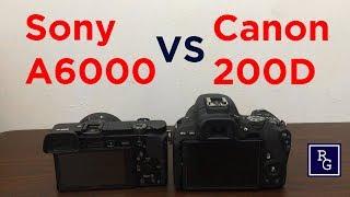 Perbandingan Foto dan Video Sony Alpha A6000 VS Canon EOS 200D