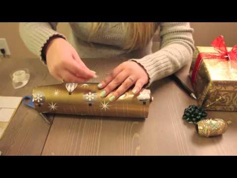 * ASMR 3D Christmas Wrapping *