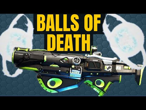 Kill-O-The-Wisp | SHOOT BALLS OF DEATH! Legendary Weapon Borderlands 3 |