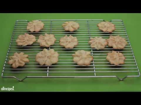 How to Make Butter Snowflakes | Christmas Cookie Recipes | Allrecipes.com