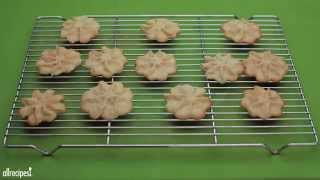 Christmas Cookie Recipes - How To Make Butter Snowflakes