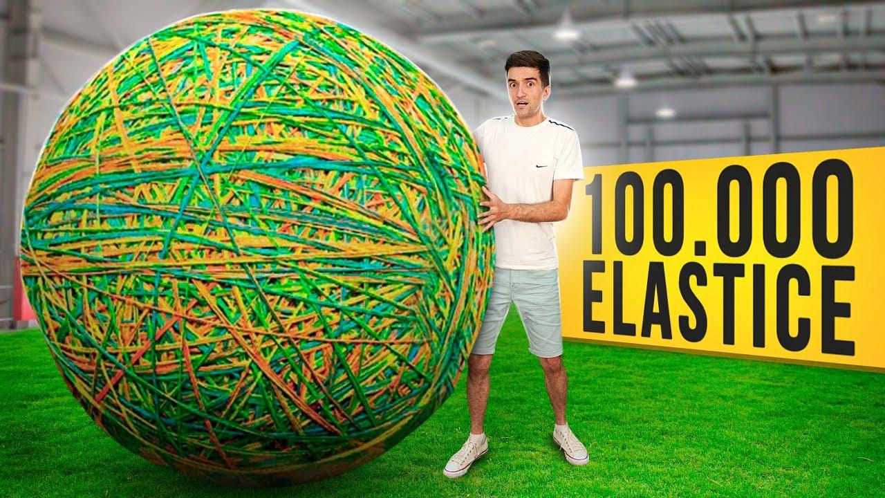 AM FACUT O MINGE DIN 100.000 DE ELASTICE ?!!