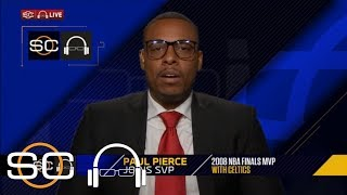 Paul Pierce on LeBron: 'When his back is against the wall, he's gonna step up' | SC with SVP | ESPN