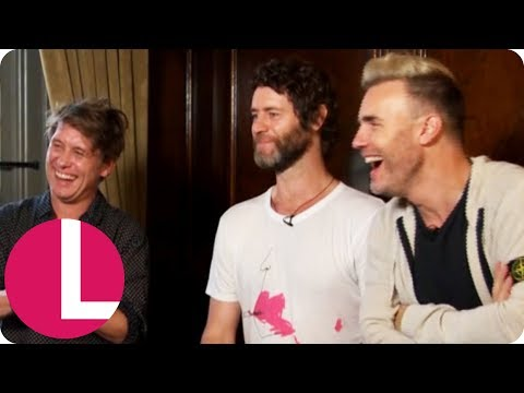 Take That on Composing for the New Musical 'The Band' (Extended) | Lorraine