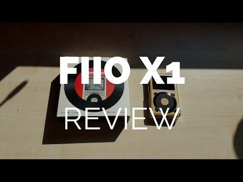 Review & Demo: FiiO X1 High Resolution Music Player