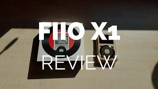 review demo fiio x1 high resolution music player