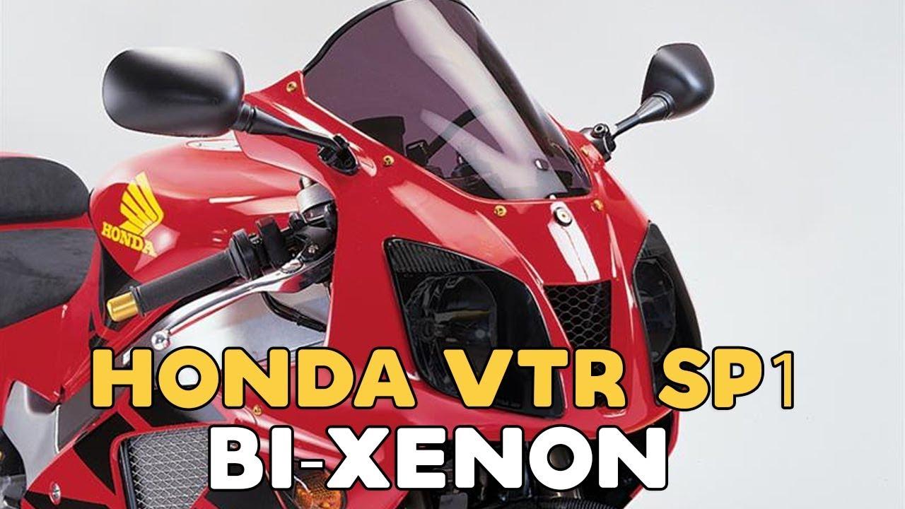 small resolution of honda vtr sp1 projector bi xenon installation