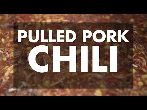 Leftover Pulled Pork Chili With Ray | REC TEC Grills