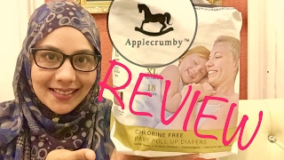  REVIEW  Applecrumby & Fish Pull Up Diapers