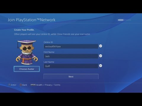 How To Create A PSN ACCOUNT ON PS4! (EASY TUTORIAL) 2019