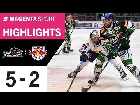 Augsburger Panther - EHC Red Bull München   23. Spieltag, 19/20   MAGENTA SPORT