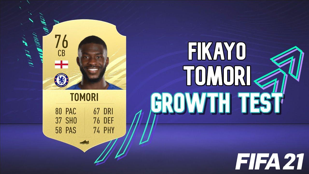 Fikayo Tomori Growth Test! FIFA 21 Career Mode - YouTube