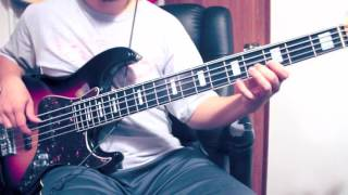 """Gambar cover Gospel bass groove  cover """"Glorious"""""""