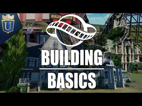 Grounding the Structure | Planet Coaster Tutorial | Building Basics Final