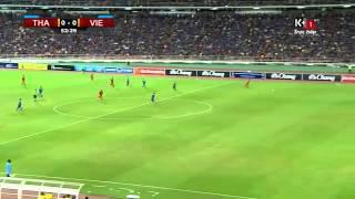 Việt Nam - Thái Lan- Công Vinh bỏ lỡ cơ hội ghi bàn đáng tiếc Vòng loại World Cup 24/5/2015