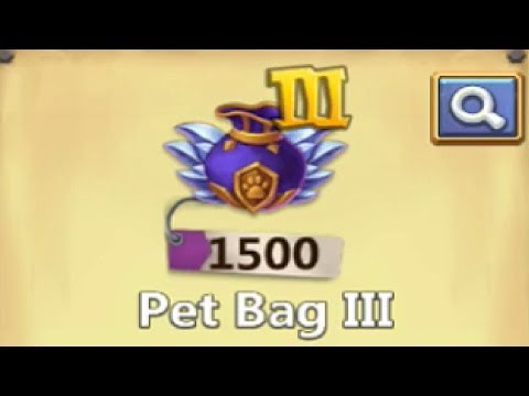 How Many Reapster Do You Get From 1500 PET BAGS Castle Clash