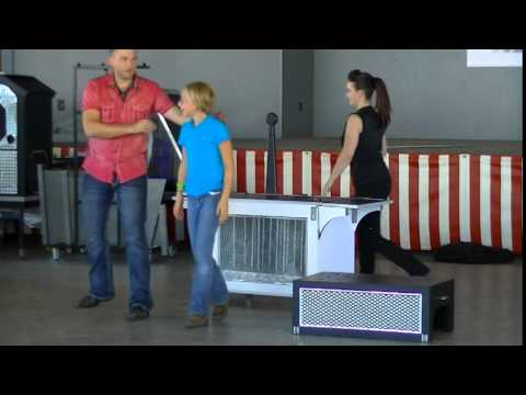 Extreme Illusion & escape  with Josh Knotts & Lea