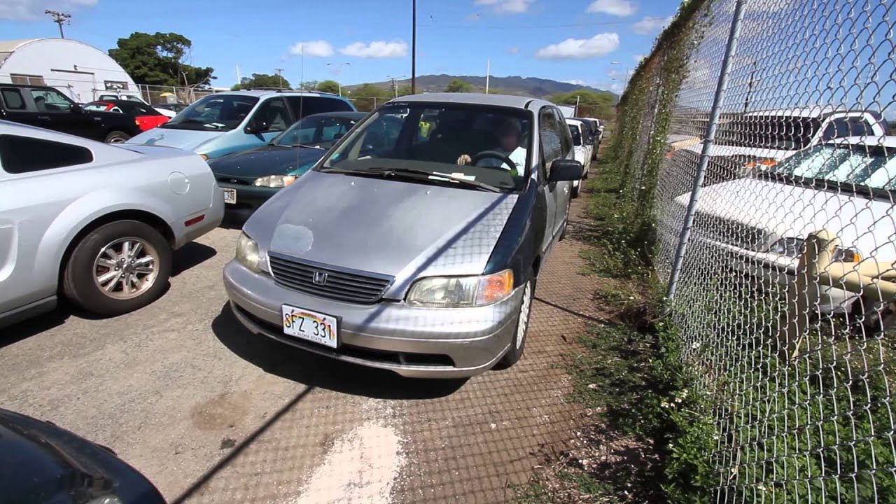 Pacific Auto Auction >> Pacific Auto Auction Honda Odyssey 1996 Youtube