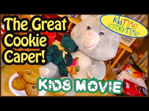 KIDS MOVIE: THE GREAT COOKIE CAPER! Videos for Kids