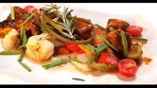 Рагу из говядины с овощами в пряном соусе | Мясо. От филе до фарша