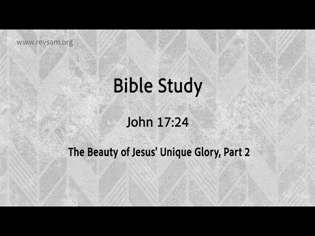 The Beauty of Jesus' Unique Glory (Part-2) | Jeevan Chelladurai | Tuesday Service | AFT Church