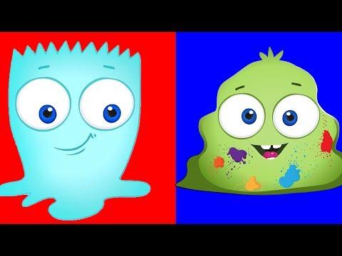 Оп и Боб 2020 — Водянистый и Плотный — Развивающие мультики для детей