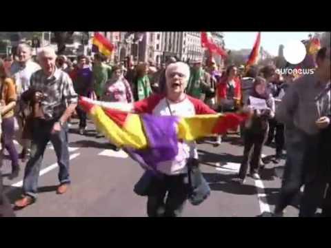 Marchers call for new Spanish republic  Lastest News