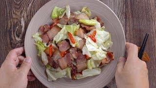 【1mintips】用臘肉做菜,為什麼吃起來太硬?因為你少了一個步驟!!大廚教你一個撇步,臘肉炒菜,每一口都香Q入味!