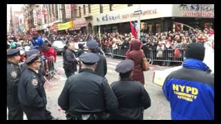 Feb 05 2017 NYC Chinatown Chinese Lunar New Year Full Parade @ Mott Street