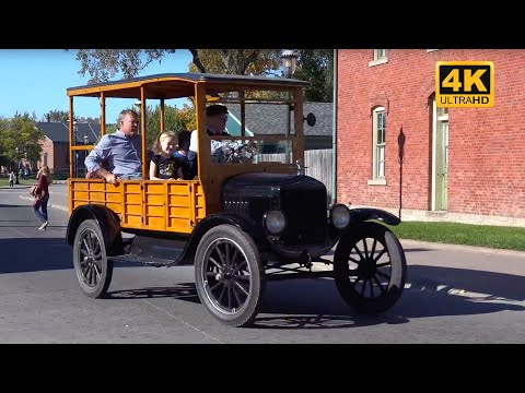 Henry FORD Museum, Factory, and Greenfield Village - 4K UHD
