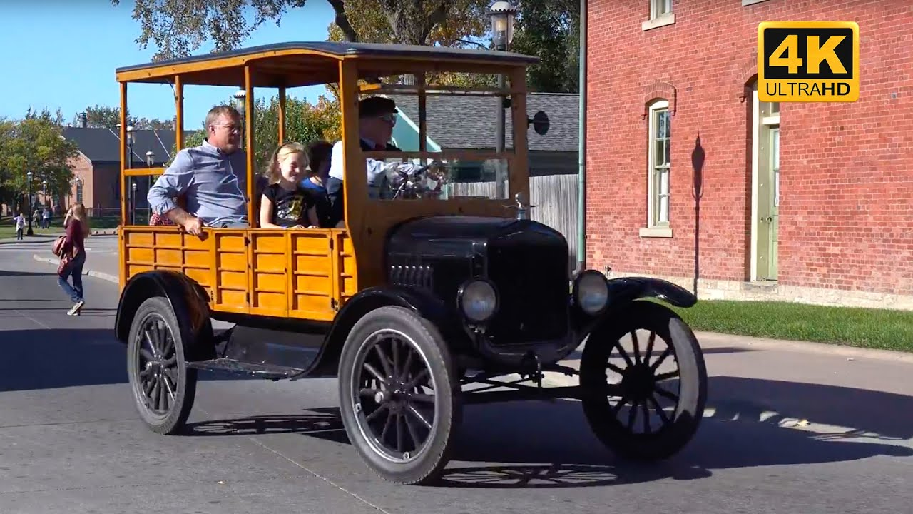 Henry ford museum factory and greenfield village 4k uhd