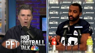 NFL players react to new national anthem policy I Pro Football Talk I NBC Sports