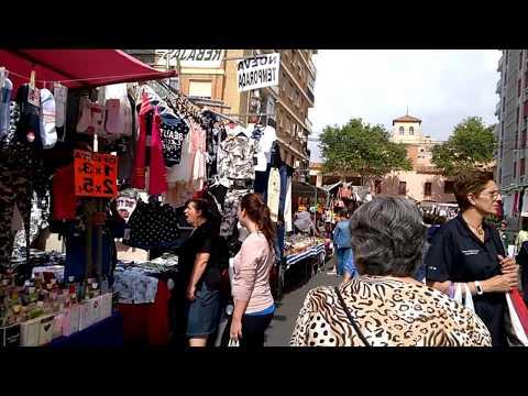 Блошиный рынок в Валенсии, flea market in Valencia
