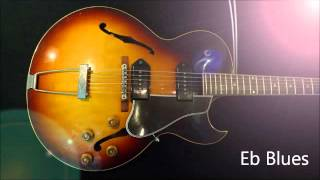 Blues Backing Track in Eb