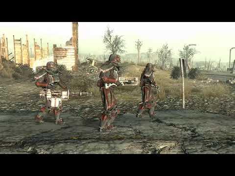 fallout-3:-brotherhood-of-steel-outcasts-patrol-vs-raiders