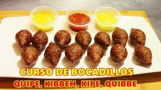 Como hacer Kibbeh, Quibbe, quipe, kipe