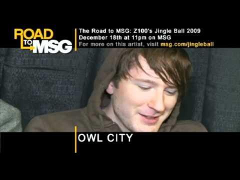 Owl City - MSG - 18 December 2009