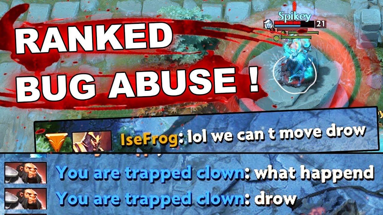 7.23e Dota 2 NEW FROZEN HEROES BUG Abuse! thumbnail