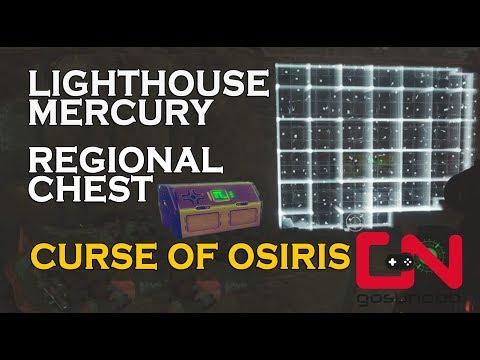 Destiny 2 How To Unlock Lighthouse Mercury Regional Chest Curse of Osiris