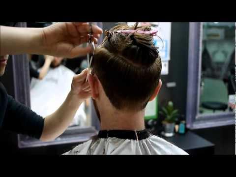 Two Block Cut In Korea Hair Salon Youtube