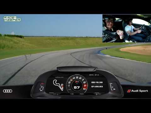 Audi R8 Plus-Audi Sport Performance Drive