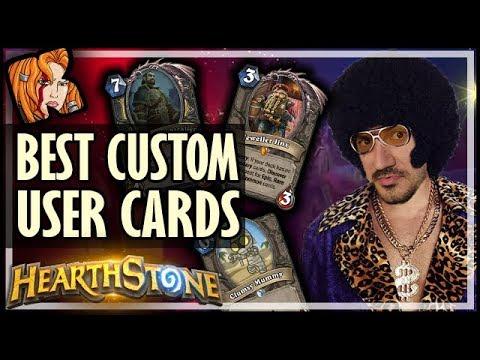 The Best User Created Cards 16 - Custom Hearthstone Cards