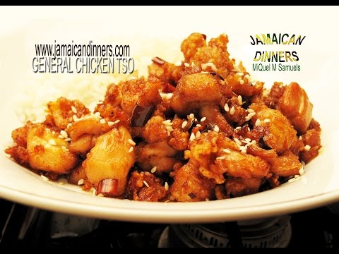 GENERAL TSO' CHICKEN: Asian American Dish