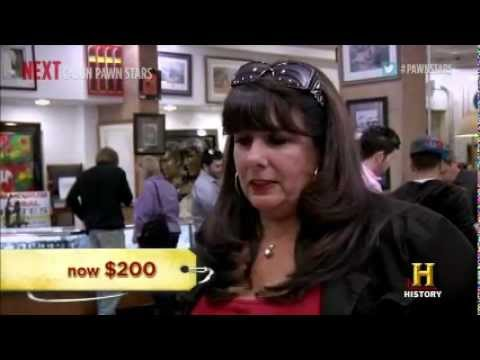 Charmy Harker aka The Penny Lady on Pawn Stars Travel Video