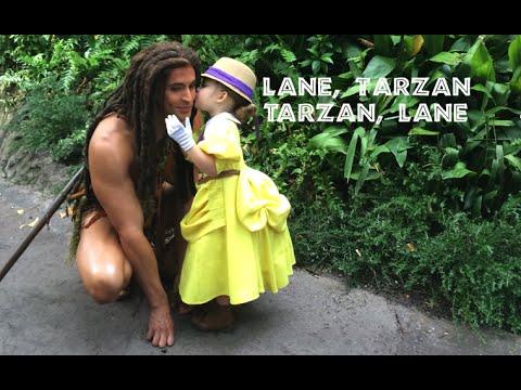 Lane As Jane Meets Tarzan At Walt Disney World Animal Kingdom